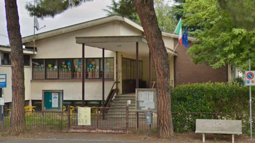 Primaria Gornate ingresso